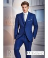 COBALT BLUE GREENWHICH TUXEDO by Ike Behar Evening