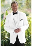 WHITE CLASSIC SHAWL DINNER JACKET