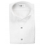 "White /Wingtip -1/4"" pleats Cotton/Poly"